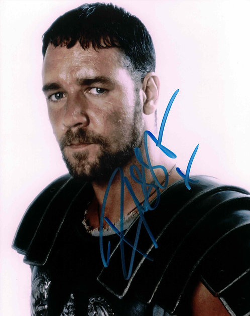 Russell Crowe / Gladiator - autogram