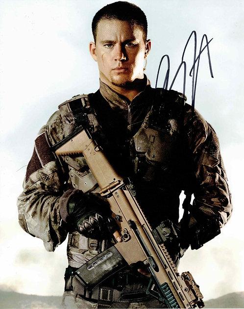 Channing Tatum - autogram