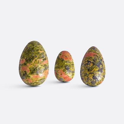 Yoni vajíčka - sada 3 ks / unakit