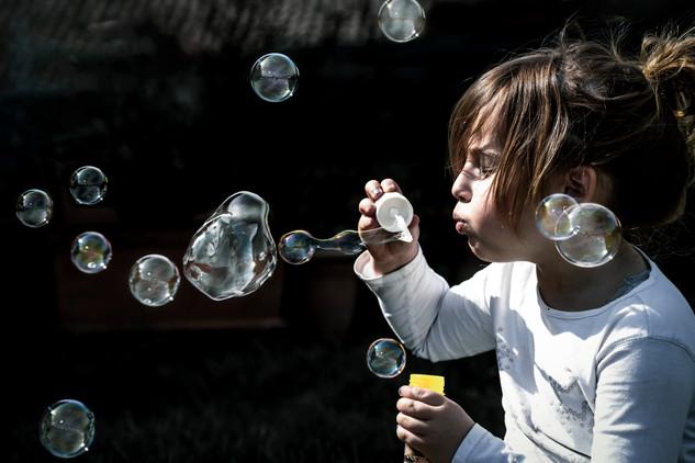 29.03 Con le bolle di sapone