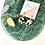 Thumbnail: Clip On Marble Mono Disc Earrings