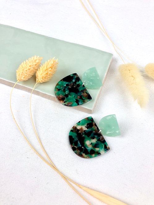 Chunky Turquoise Dangle & Drop Earrings