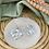 Thumbnail: Silver Plated Big Mosaic Geo Hoops