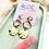 Thumbnail: Triple Tonal Gold Brass Drop Earrings