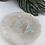 Thumbnail: Iridescent Glitter Triangle Hoops