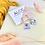 Thumbnail: Translucent Blue Star Clip On Earrings