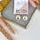 Thumbnail: 24k Gold Plated Mother of Pearl & Sun Hoops