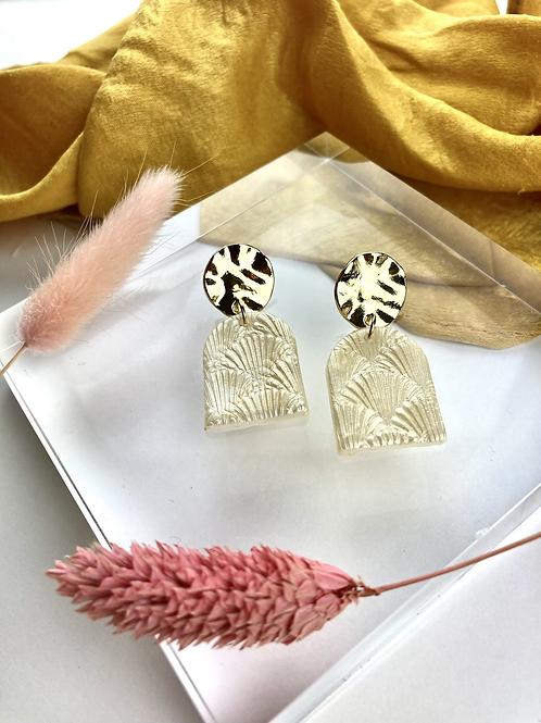 Shimmer Clay Dangle & Drop Earrings
