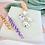 Thumbnail: Pastel Mosaic Clay Dangle & Drop Earrings