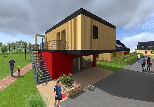 ben grine anne architecte lorient co quartier bretagne sud. Black Bedroom Furniture Sets. Home Design Ideas