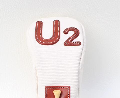 K& HC-TEE CLASSIC ヘッドカバー U2番手 UTサイズ ユーティリティ 生成り