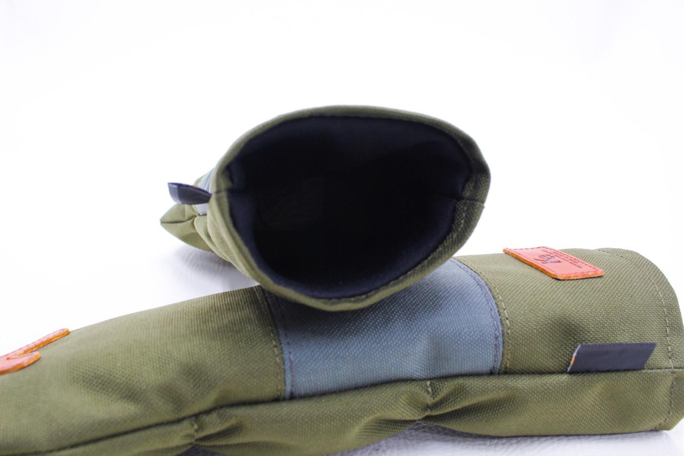K& HC-Mit COBA ヘッドカバー カーキ、グレー×fieno 内装
