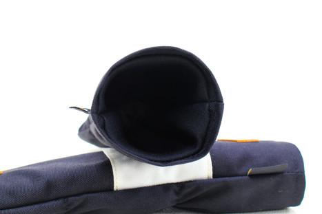 K& HC-Mit COBA ヘッドカバー ブラック、オフホワイト×fieno 内装