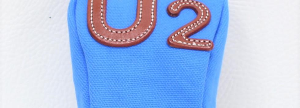 K& HC-TEE CLASSIC ヘッドカバー U2番手 UTサイズ ブルー