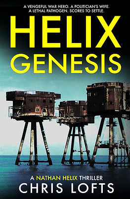 Helix Genesis Thirller by Chris Lofts Author