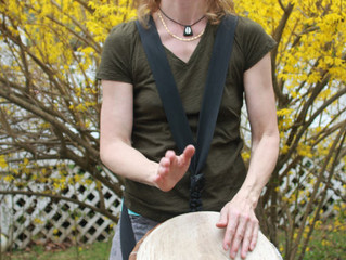 West African Drum Class in January/February with Annegret