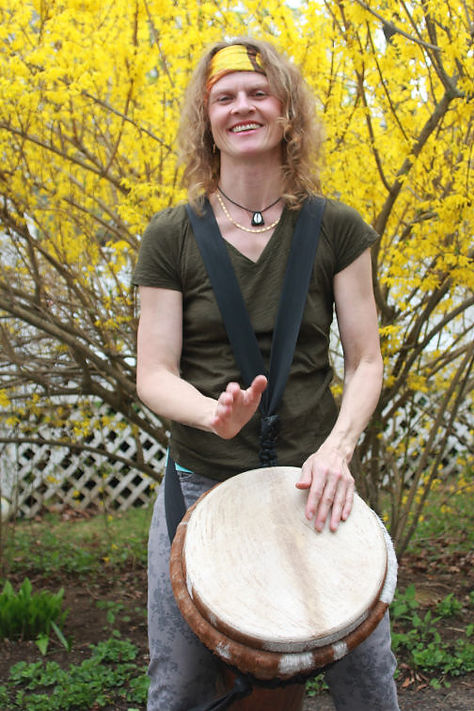 Annegret Baier, West African Drummer