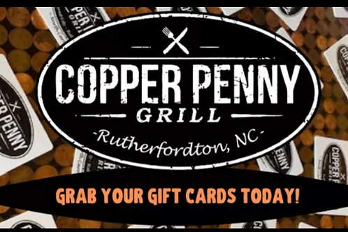 Copper Penny Gift Card