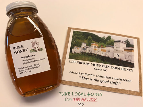 Lisenberry Mountain Farm Honey from The Gallery