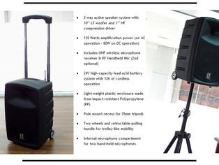 Portable Audio Solution