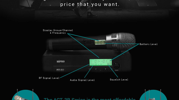 Announcing the Mipro ACT-3B Series Price Drop!