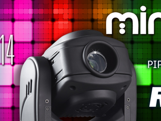 Robe lighting unveils the mighty little MiniMe