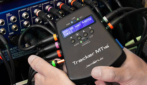 JamHub Tracker MT16 Recorder