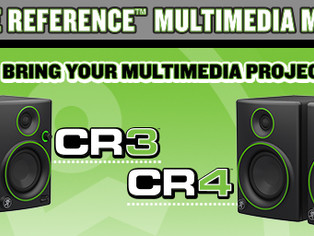 MACKIE LAUNCHES ALL-NEW CREATIVE REFERENCE MULTIMEDIA MONITORS