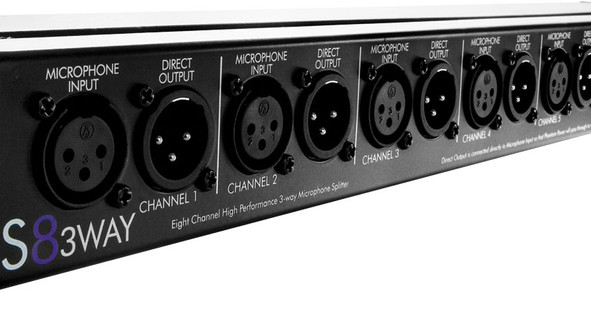 ART Pro Audio S8 Mic Splitter