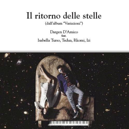 """Digital score """"Il ritorno delle stelle"""" - Piano / Chords / Guitar TAB / Lyrics"""