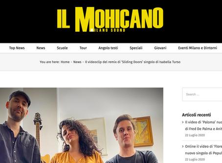 ilmohicano.it / Il videoclip del remix di 'Sliding Doors' singolo di Isabella Turso