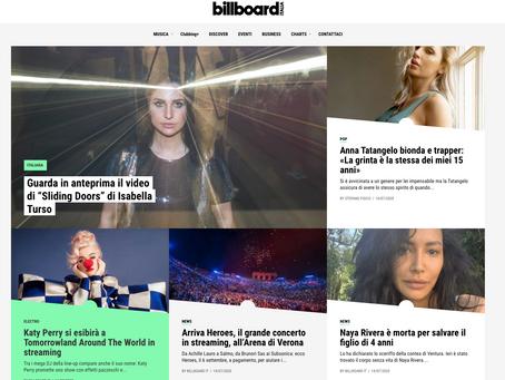 """billboard.it / Guarda in anteprima il video di """"Sliding Doors"""" di Isabella Turso"""