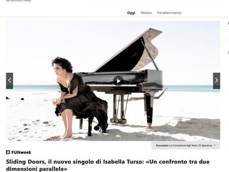 Sliding Doors, il nuovo singolo di Isabella Turso: «Un confronto tra due dimensioni parallele»