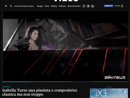 Il Sole24ore / Isabella Turso una pianista e compositrice classica ma non troppo