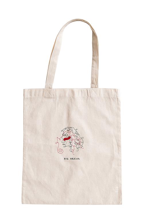 Big Break, Shopper Bag Ricamata