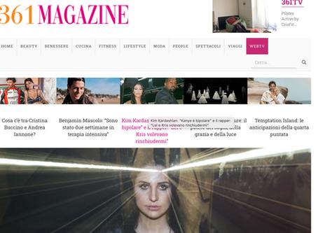 """361magazine.com / Isabella Turso: """"Ho fatto incontrare piano e musica dance nel remix di..."""