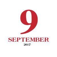 9:e September Logga