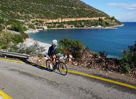 Cyklingen i Grekland !