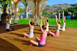 Yogaresa på Kreta