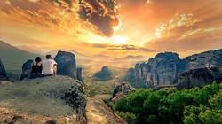 Meteora klipporna