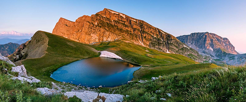 Draksjön i Epirus