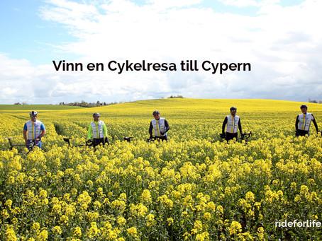 Vinn en Cykelresa till Cypern !