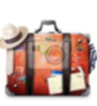 retro-koffer-eines-reisenden-mit-reise-a