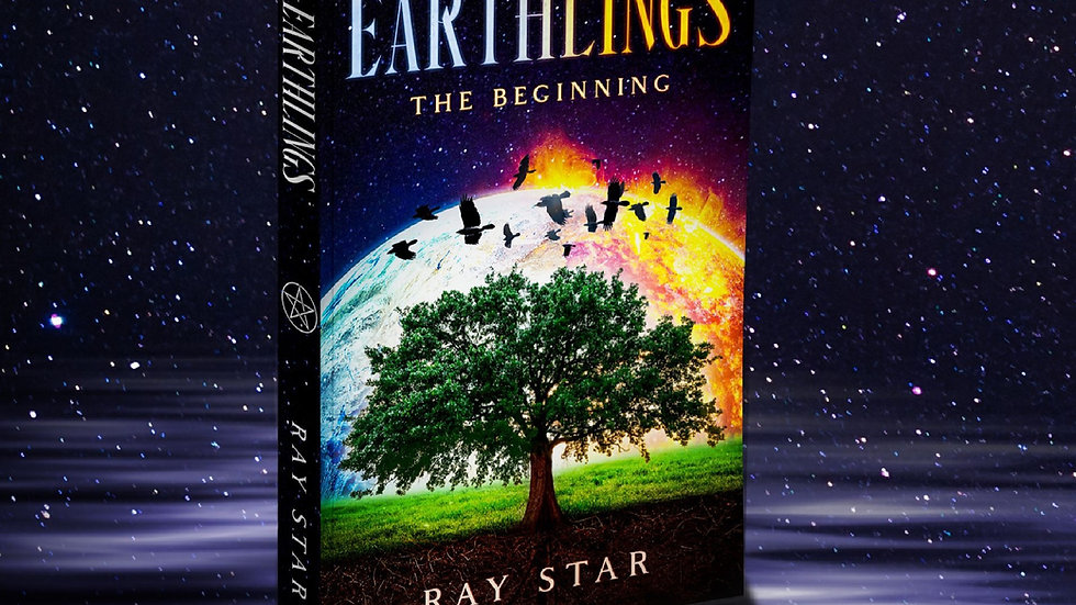 Earthlings The Beginning - Paperback - Signed by the Author