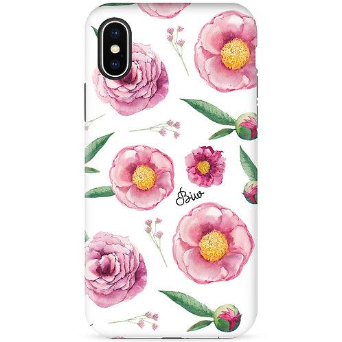 Pink Roses 2 (White) - รุ่น Dual Guard