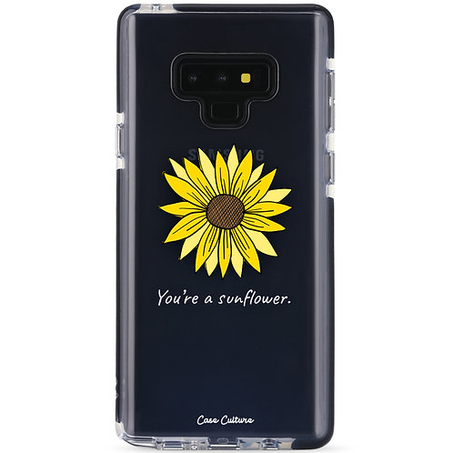 You're a Sunflower (White Font) - รุ่น Clear Guard