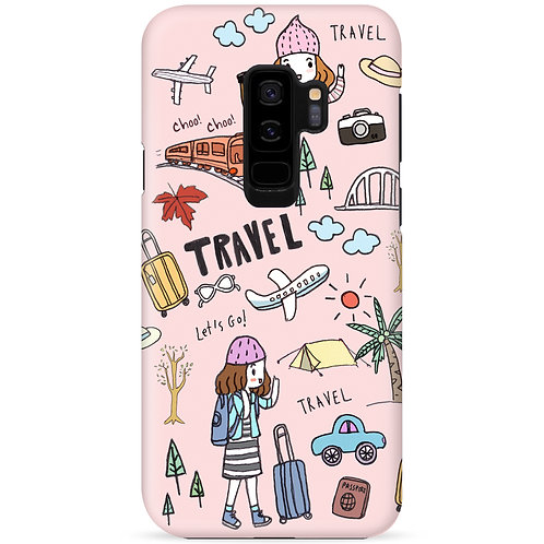 Let's go travel (Cool Pink) - รุ่น Dual Guard