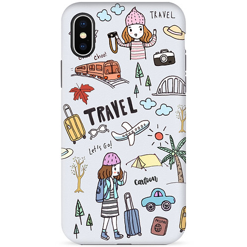 Let's go travel (Gray) - รุ่น Dual Guard
