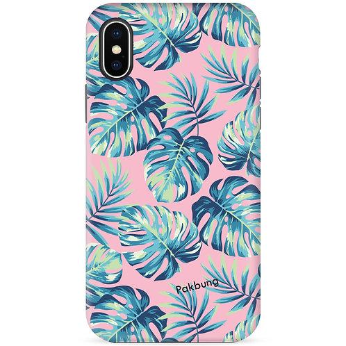 Tropical Leaves (Pink) - รุ่น Dual Guard