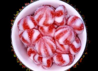 Sour Strawberry Swirls